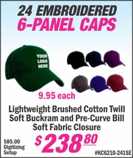 embroidered hats for your business with company logo by lets print baby edison, nj